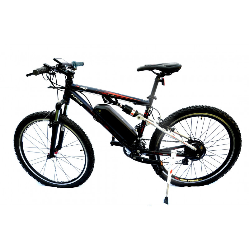 Full Suspension 800W 10.4Ah Ebike