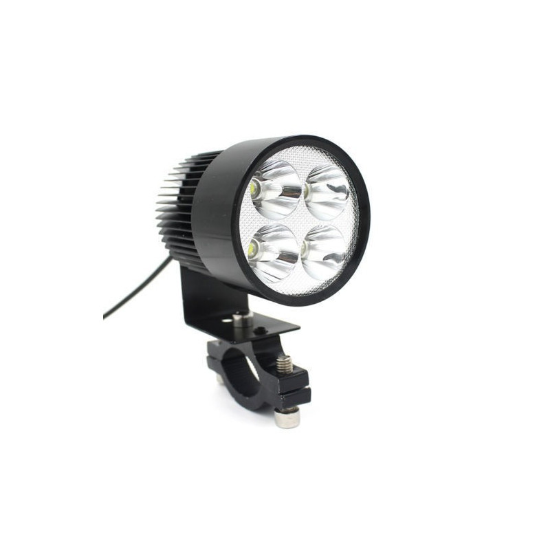 12V-80V Universal Motorcycle E-bike 20W LED Modified Headlight Lamp