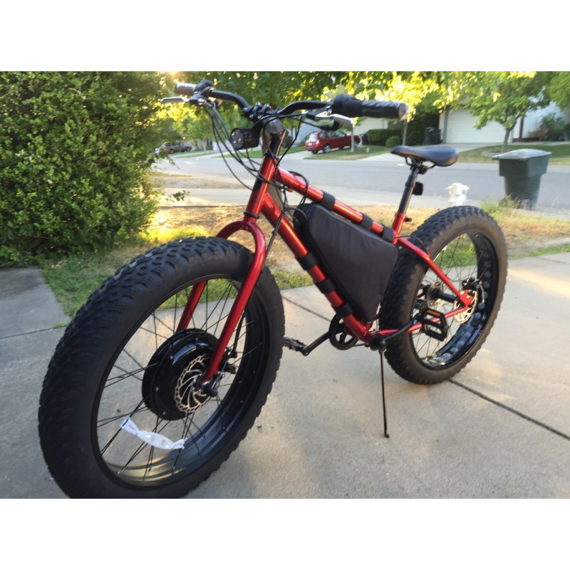 2015 Front WD 48v 1000w Fat Wheel Ebike+48V 15Ah