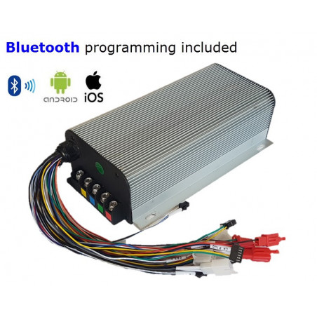 15kW 120v Sinewave/Silent Controller - Android-iOS-Bluetooth Dash & Programming