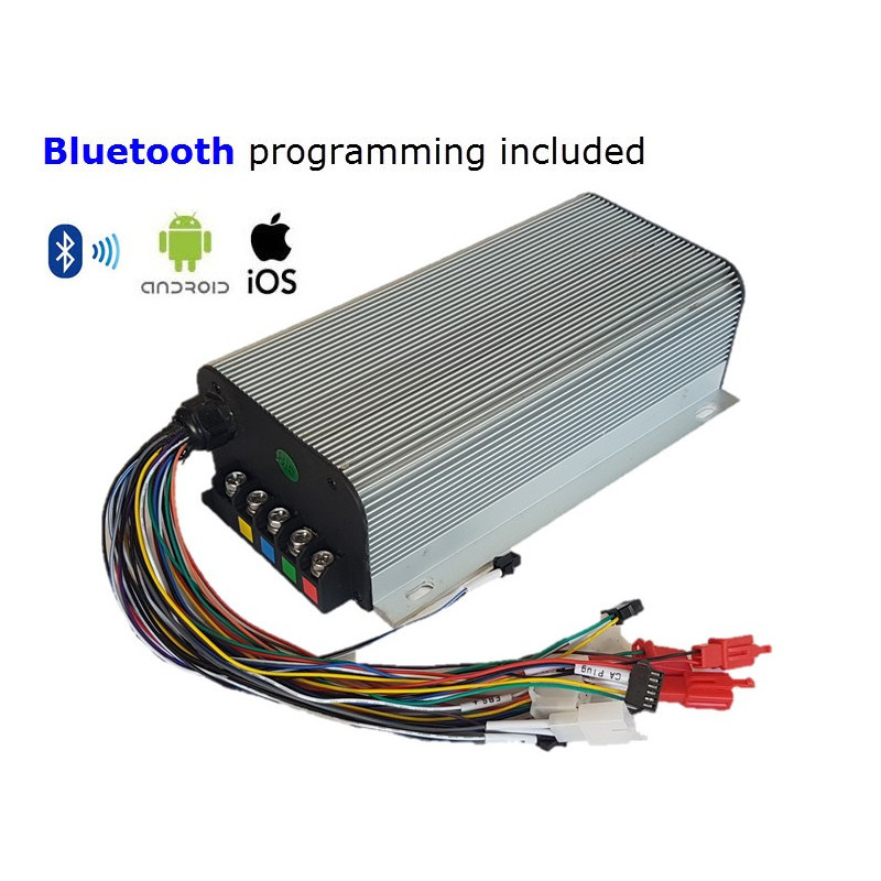 24F 15kW Sinewave/Silent Controller - Android-iOS-Bluetooth Programmable